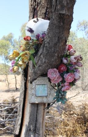 1 of 4 Ben James Robinson - Memorial Site December 2015 on Huntly-Forresterville Road, Just outside of Bendigo - Copyright Protected