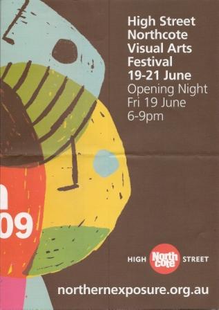 High Street Northcote, Melbourne Visual Arts Festival 2009 - 1