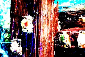 """Abstract Digital Photo Painting No. 60B - Titled """"Queenscliff Point Lonsdale ADAP"""" April 2010 by Abstract Artist: Karen Robinson NB: All images are protected by copyright laws!"""