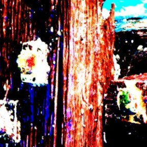 "Abstract Digital Photo Painting No. 60B - Titled ""Queenscliff Point Lonsdale ADAP"" April 2010 by Abstract Artist: Karen Robinson NB: All images are protected by copyright laws!"