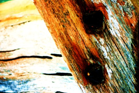 """Abstract Digital Photo Painting No. 63B - Titled """"Queenscliff Point Lonsdale ADAP"""" April 2010 by Abstract Artist: Karen Robinson NB: All images are protected by copyright laws!"""