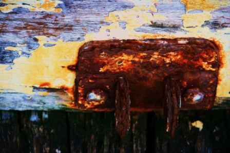 """Abstract Digital Photo Painting No. 66A - Titled """"Queenscliff Point Lonsdale ADAP"""" April 2010 by Abstract Artist: Karen Robinson NB: All images are protected by copyright laws!"""
