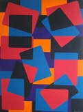 """Painting No. 22 - Title """"Busy Office"""" by Abstract Artist Karen Robinson - 2008 NB: All images are protected by copyright laws!"""