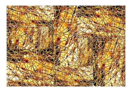 Abstract Digital Photo Painting No. 2A - Collage 2008/2009 by Abstract Artist: Karen Robinson