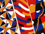 """Painting No. 31 - Title """"Don't Tread On Me"""" by Abstract Artist Karen Robinson - 2009 All images are protected by copyright laws!"""
