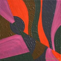 "Painting No. 5 - Title ""Fracture"" by Abstract Artist Karen Robinson - 2008 NB: All images are protected by copyright laws!"