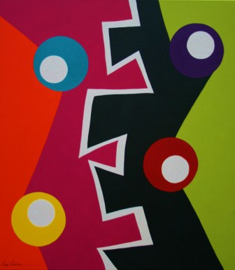 Abstract Painting Portfolio Overview (5/6)
