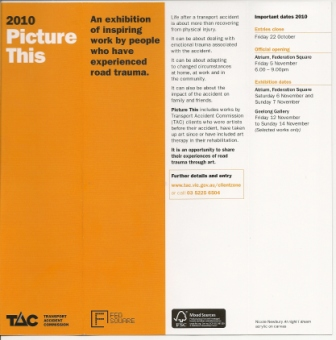 TAC Picture This Exhibition Brochure 2010