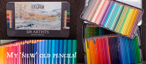 Derwent Colour Pencils in a tin box!