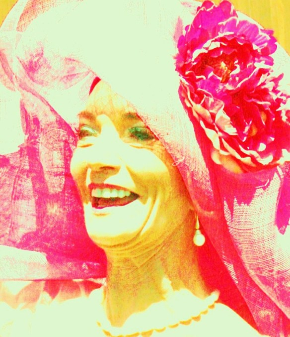 Melbourne Cup 2008 - Helen Court - Digital Photo Painting - by Karen Robinson - Abstract Artist NB: All images are protected by copy right laws!