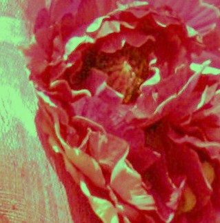 Melbourne Cup 2008 - Helen Court's Flower in Hat Digital Photo Painting by Karen Robinson - Abstract Artist NB: All images are protected by copyright laws!