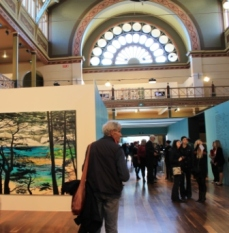 Melbourne Art Fair August 2014 at Royal Exhibition Building Melbourne Australia Photo taken by Karen Robinson whilst visiting IMG_0367.JPG