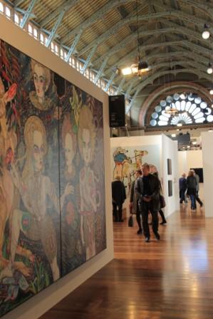 Melbourne Art Fair August 2014 at Royal Exhibition Building Melbourne Australia Photo taken by Karen Robinson whilst visiting IMG_0373.JPG