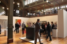 Melbourne Art Fair August 2014 at Royal Exhibition Building Melbourne Australia Photo taken by Karen Robinson whilst visiting IMG_0426.JPG
