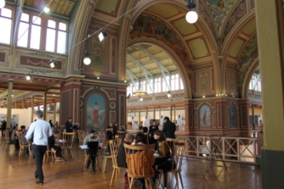 Melbourne Art Fair August 2014 at Royal Exhibition Building Melbourne Australia Photo taken by Karen Robinson whilst visiting IMG_0450.JPG