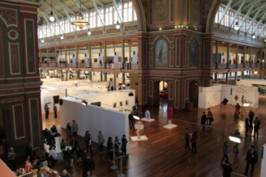 Melbourne Art Fair August 2014 at Royal Exhibition Building Melbourne Australia Photo taken by Karen Robinson whilst visiting IMG_0452.JPG