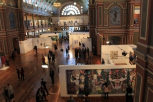 Melbourne Art Fair August 2014 at Royal Exhibition Building Melbourne Australia Photo taken by Karen Robinson whilst visiting IMG_0454.JPG