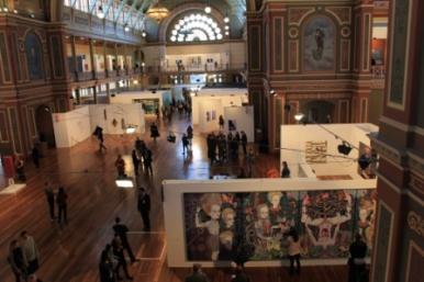 Melbourne Art Fair August 2014 at Royal Exhibition Building Melbourne Australia Photo taken by Karen Robinson whilst visiting IMG_0454.JPG