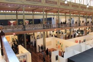 Melbourne Art Fair August 2014 at Royal Exhibition Building Melbourne Australia Photo taken by Karen Robinson whilst visiting IMG_0464.JPG