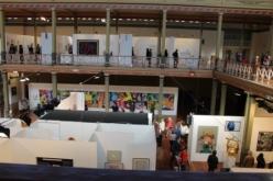 Melbourne Art Fair August 2014 at Royal Exhibition Building Melbourne Australia Photo taken by Karen Robinson whilst visiting IMG_0468.JPG