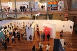 Melbourne Art Fair August 2014 at Royal Exhibition Building Melbourne Australia Photo taken by Karen Robinson whilst visiting IMG_0470.JPG