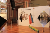 Melbourne Art Fair August 2014 at Royal Exhibition Building - Photo taken by Karen Robinson whilst visiting fair IMG_0369.JPG
