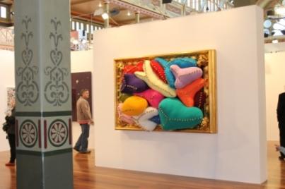 Melbourne Art Fair August 2014 at Royal Exhibition Building - Photo taken by Karen Robinson whilst visiting fair IMG_0380.JPG
