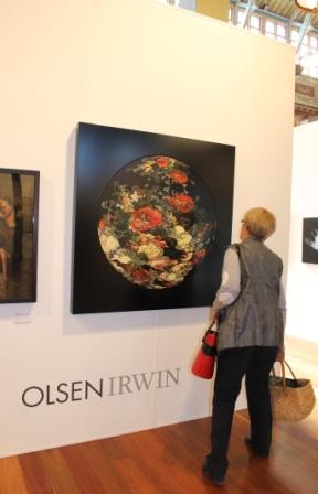 Melbourne Art Fair August 2014 at Royal Exhibition Building - Photo taken by Karen Robinson whilst visiting fair IMG_0427.JPG