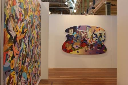 Melbourne Art Fair August 2014 at Royal Exhibition Building - Photo taken by Karen Robinson whilst visiting fair IMG_0435.JPG