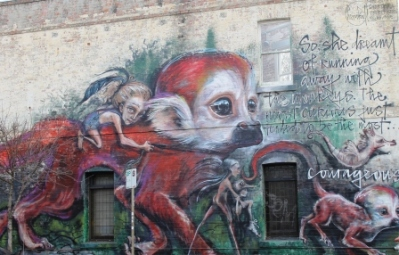 1. Melbourne Street Art - Fitzroy North Sept 2014 Photographed by Karen Robinson.JPG