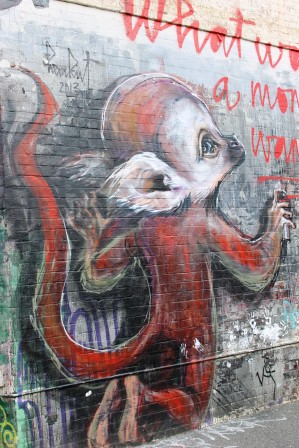 11. Melbourne Street Art - Fitzroy North Sept 2014 Photo graphed by Karen Robinson.JPG