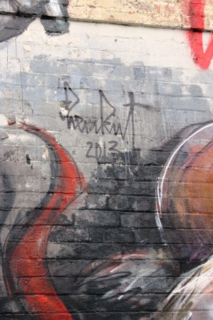 12. Melbourne Street Art - Fitzroy North Sept 2014 Photo graphed by Karen Robinson.JPG