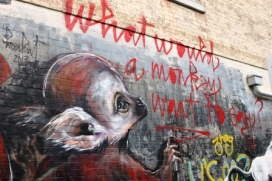 13. Melbourne Street Art - Fitzroy North Sept 2014 Photo graphed by Karen Robinson.JPG