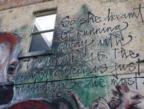 4. Melbourne Street Art - Fitzroy North Sept 2014 Photo graphed by Karen Robinson.JPG