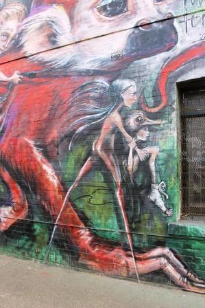 6. Melbourne Street Art - Fitzroy North Sept 2014 Photo graphed by Karen Robinson.JPG