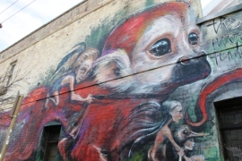 7. Melbourne Street Art - Fitzroy North Sept 2014 Photo graphed by Karen Robinson.JPG