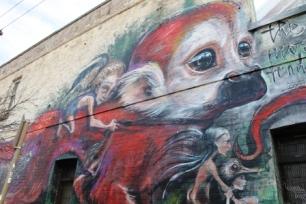 7. Melbourne Street Art - Fitzroy North Sept 2014 Photo graphed by Karen Robinson.JPG