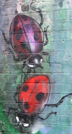 9. Melbourne Street Art - Fitzroy North Sept 2014 Photo graphed by Karen Robinson.JPG