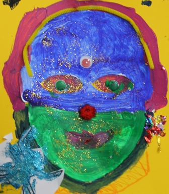No. 5 Artful Child's Play - Sept 2014 Holiday Program Children Ages 5 to 12 Photographed by Karen Robinson Abstract Artist .JPG