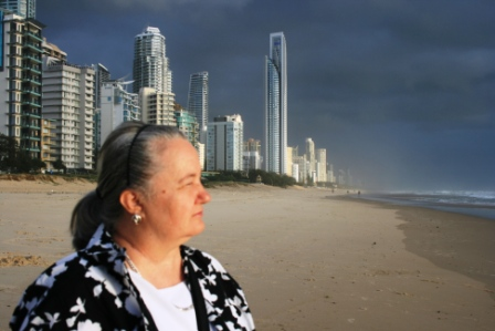 No. 17 - Broadbeach, Gold Coast, Queensland - Australia Photographed by Husband of Karen Robinson Abstract Artist 2014.JPG