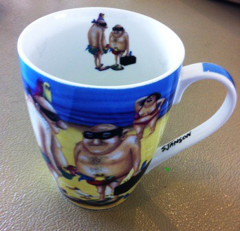 No. 3 Creative Writing Session 2 - working with Sue Janson Australian Artist Coffee Cup Images as inspiration photographed by Karen Robinson Nov 2014.JPG.JPG