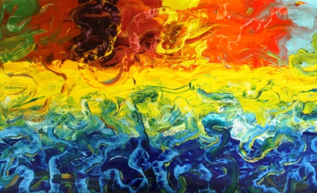 2015 Abstract Paintings/Stories (2/6)