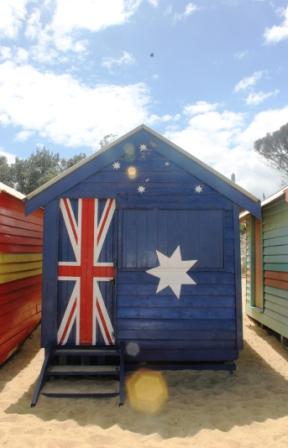 No. 3 Brighton Bathing Boxes - Melbourne - Australia Day Weekend 2015 Photographed by Karen Robinson.JPG
