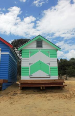 No. 79 Brighton Bathing Boxes - Melbourne -Australia Day Weekend 2015 Photographed by Karen Robinson.JPG
