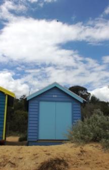 No. 81 Brighton Bathing Boxes - Melbourne -Australia Day Weekend 2015 Photographed by Karen Robinson.JPG