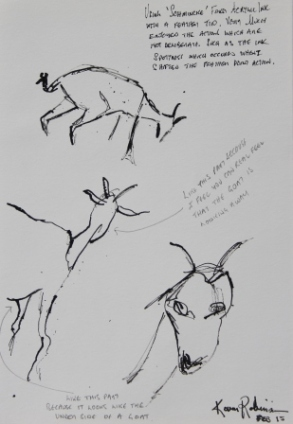 View No. 3 - Karen Robinson's ink drawings created in Marco Luccio's arts session on creating powerful & expressive drawings Feb 2015.JPG