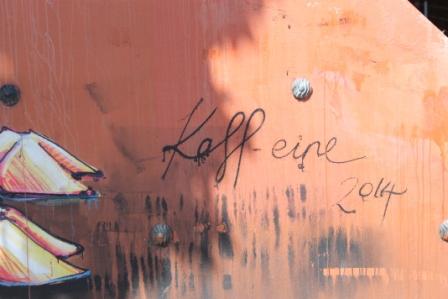 No. 19-21 KAFF-EINE Melbourne Street Art Fitzroy - Smith Reserve on Alexander Parade - Photographed by Karen Robinson.JPG