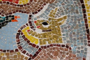 No. 37 of 70 images of MIRKA MORA'S FLINDERS ST STATION MURAL – Melbourne Australia Photographed by Karen Robinson 18th April 2015 NB All images are subject to copyright laws