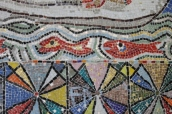 No. 51 of 70 images of MIRKA MORA'S FLINDERS ST STATION MURAL – Melbourne Australia Photographed by Karen Robinson 18th April 2015 NB All images are subject to copyright laws