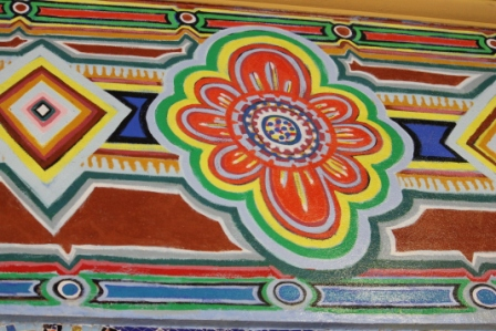 No. 54 of 70 images of MIRKA MORA'S FLINDERS ST STATION MURAL – Melbourne Australia Photographed by Karen Robinson 18th April 2015 NB All images are subject to copyright laws